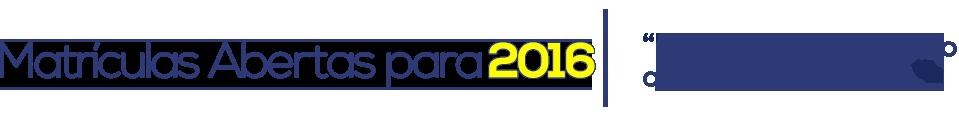 Matriculas Abertas 2016